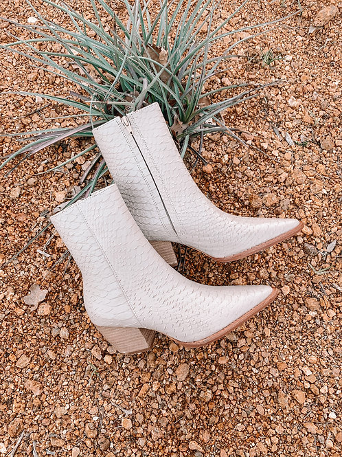 "Ivory ""Caty"" Mid-Calf Boots"