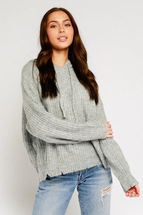 Cozy Knit Hoodie