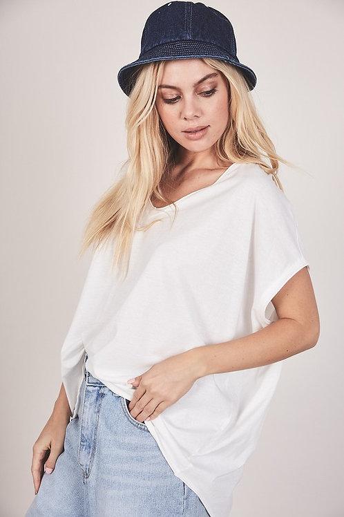 White Boxy T-Shirt