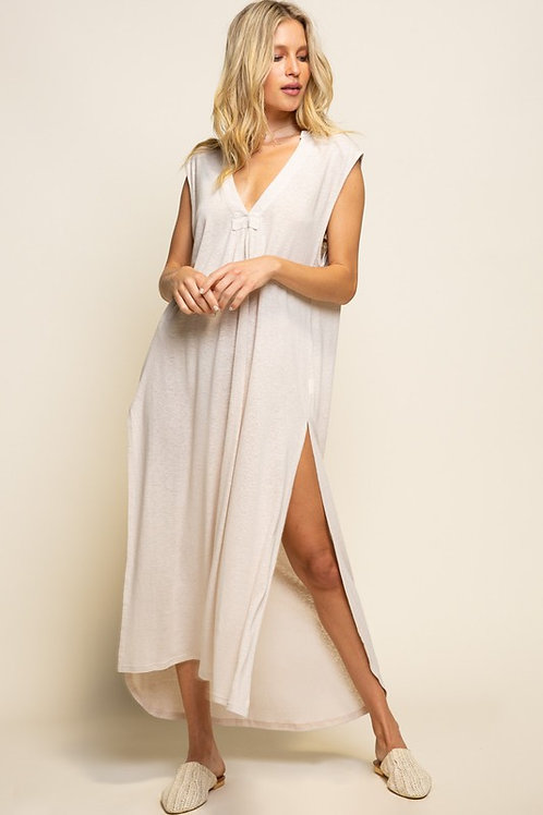 Oatmeal Maxi Dress