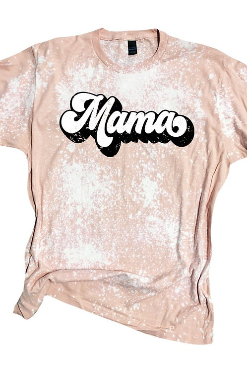 Mama Bleached Tee