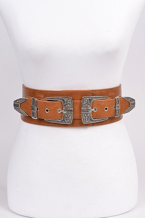 Camel Buckle Belt