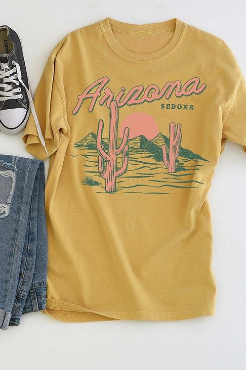 Mustard Arizona Tee