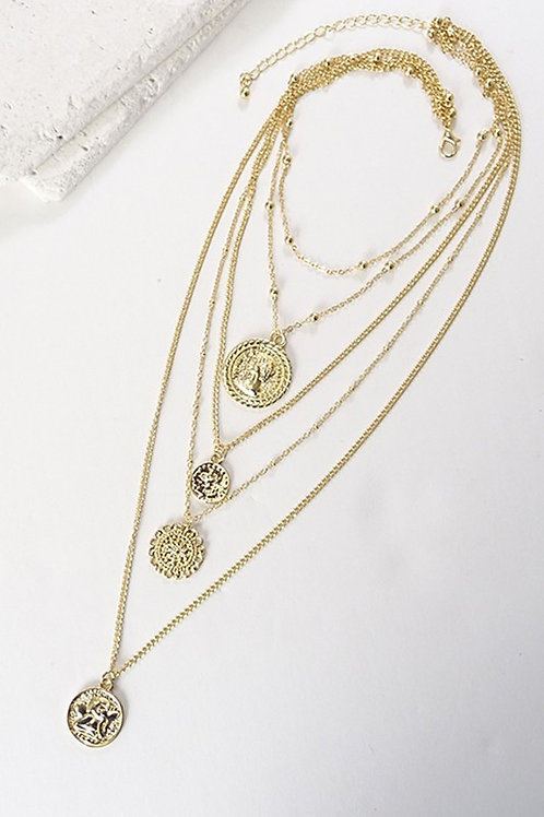 Coin Layer Necklace