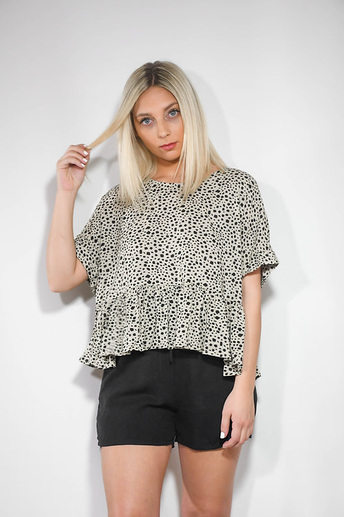 Spotted Flare Top