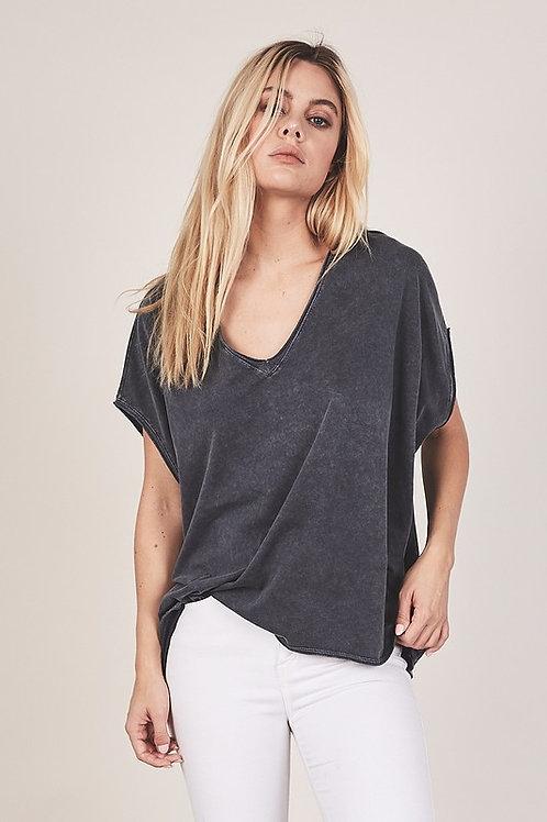 Charcoal Boxy T-Shirt