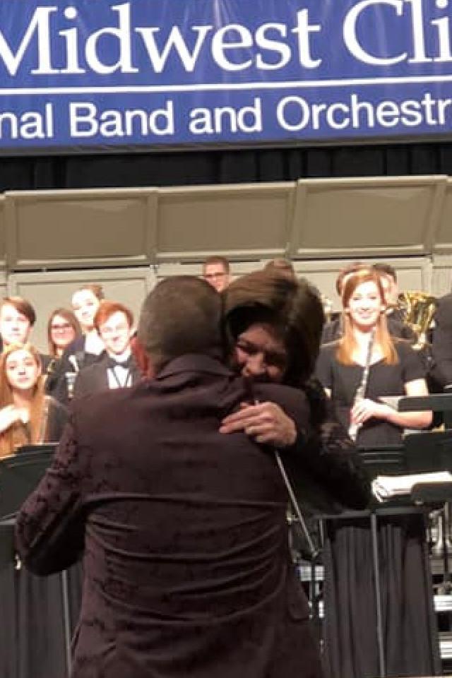Hugs with Lanie
