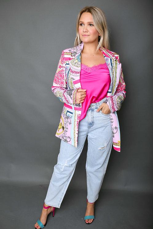Blazer inspiration Versace - Fuschia
