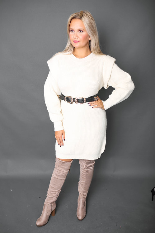 Robe-pull - Blanc