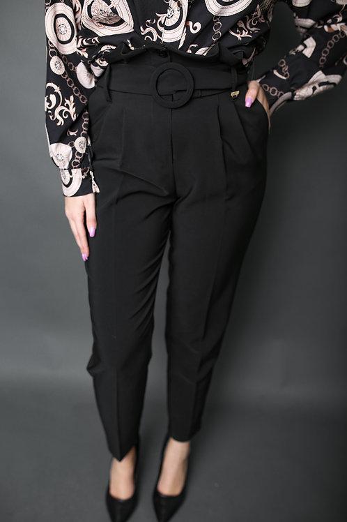 Artigli - Pantalon avec ceinture - Noir