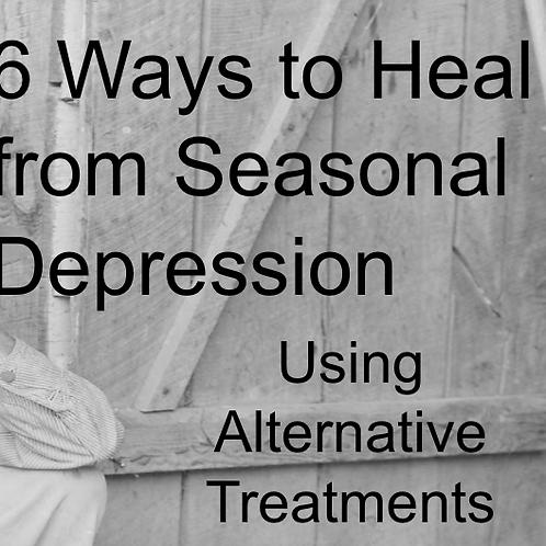 6 Ways to Heal from Seasonal DepressionPresentation