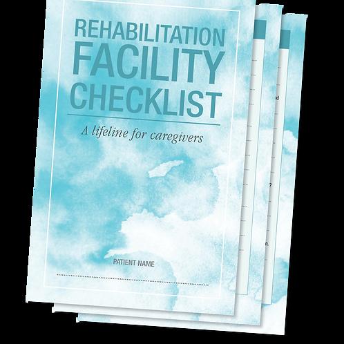Rehab Facility Checklist Forms