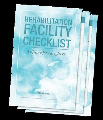 3 Rehab Facility Checklist Forms