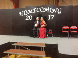 Gage, the 2017 Homecoming King