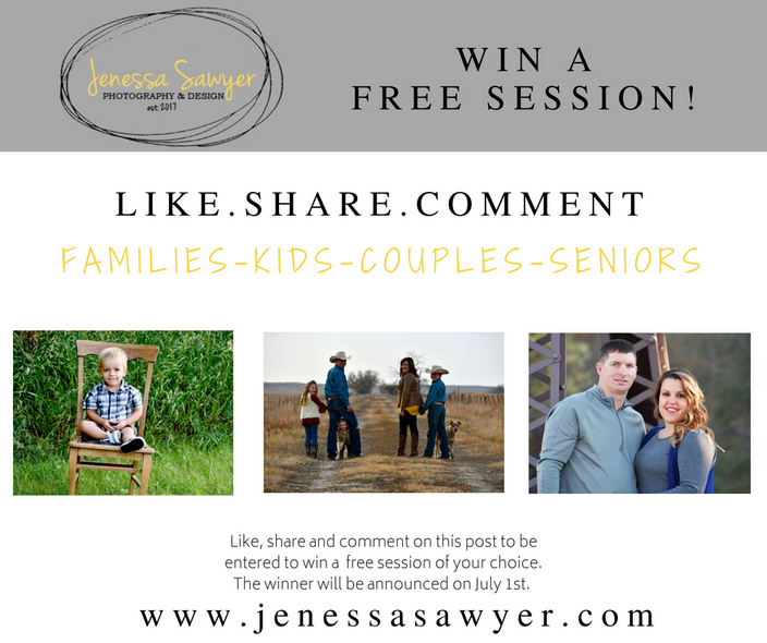 Win a FREE Session