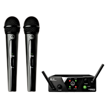 AKG WMS40 Mini Dual Wireless Vocal Microphone System