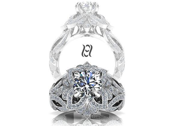 Hermazi® 'Laelia' Diamond Ring