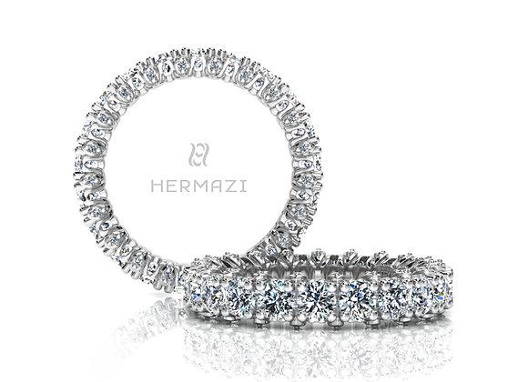 Hermazi® 'Stunning' Eternity Diamond Band