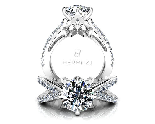 Hermazi® 'Grand Jeté' Ring
