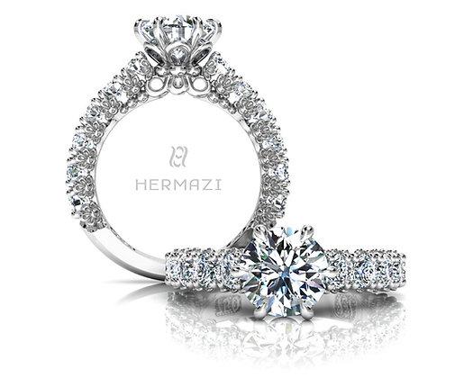 Hermazi® 'Delightful' Three-Quarter Way Ring