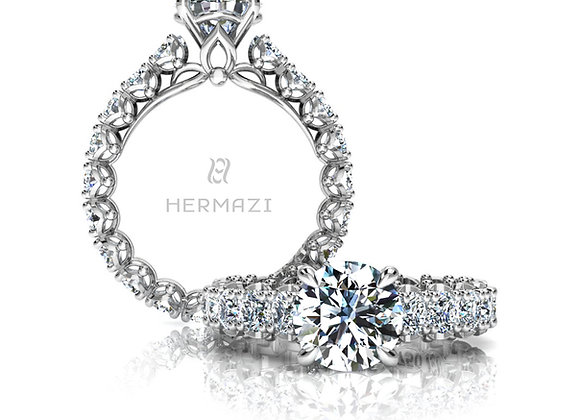 Hermazi® 'Serene' Eternity Ring