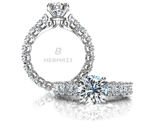 Hermazi® 'Devotion' Eternity Ring