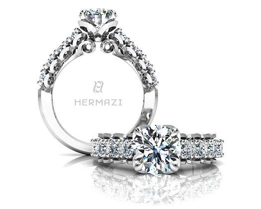Hermazi® 'Infatuate' Halfway Ring