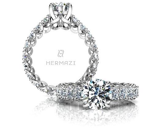 Hermazi® 'Infinite' Eternity Ring