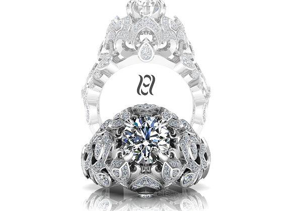 Hermazi® 'Fuchsia' Diamond Ring