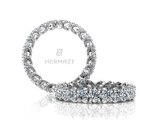 Hermazi® 'Elegance' Eternity Diamond Band
