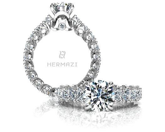 Hermazi® 'Elegance' Eternity Ring