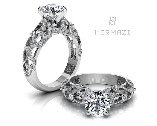 Hermazi® 'Clover Honey I.' Ring