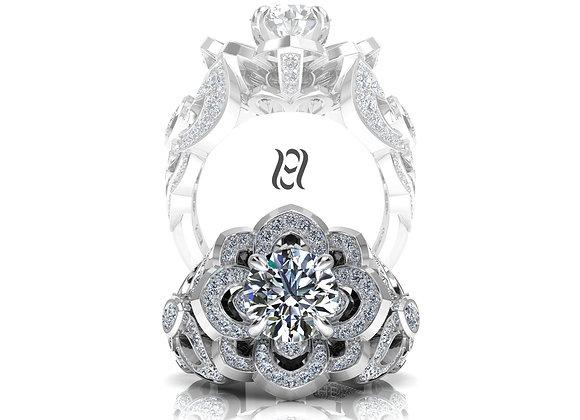 Hermazi® 'Water Lily' Ring