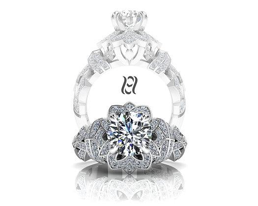 Hermazi® 'Orchid Petite' Ring
