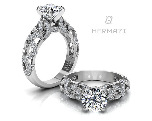 Hermazi® 'Chestnut Honey I.' Ring
