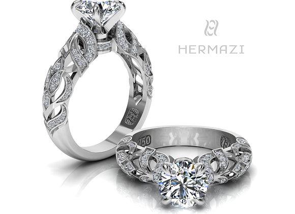 Hermazi® 'Heather Honey I.' Ring