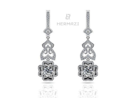 Hermazi® 'Bleeding Heart' Earring