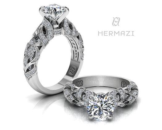 Hermazi® 'Heather Honey' Ring