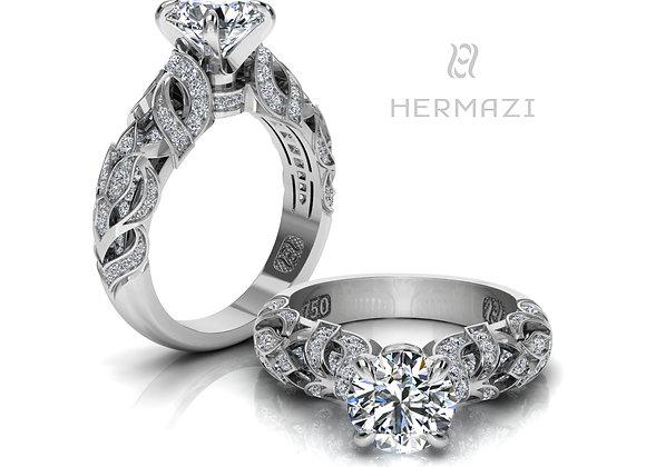 Hermazi® 'Heather Honey II.' Ring