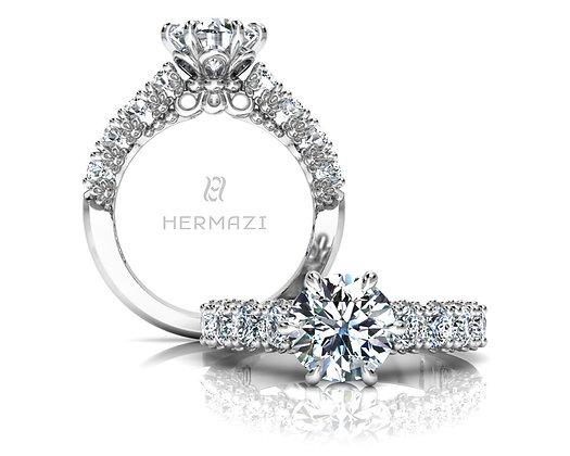 Hermazi® 'Delightful' Halfway Ring