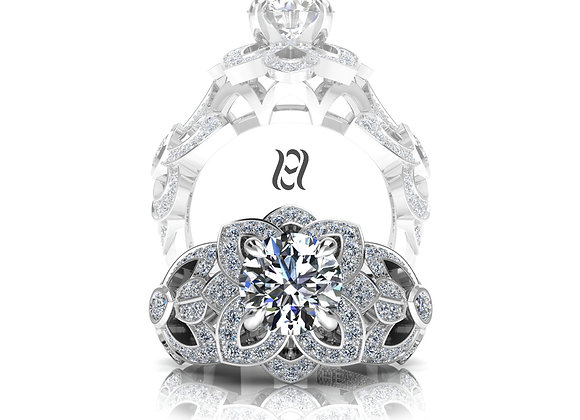 Hermazi® 'Desert Rose Petite' Ring