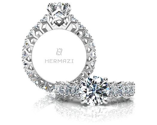 Hermazi® 'Divine' Eternity Ring