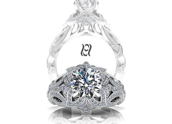 Hermazi® 'Laelia Petite' Diamond Ring