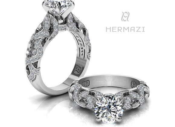 Hermazi® 'Chestnut Honey II.' Ring