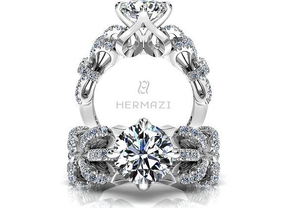 Hermazi® 'Arabesque' Ring