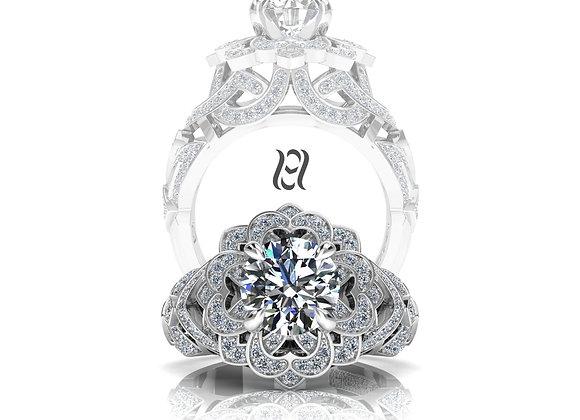 Hermazi® 'Gardenia Petite' Ring