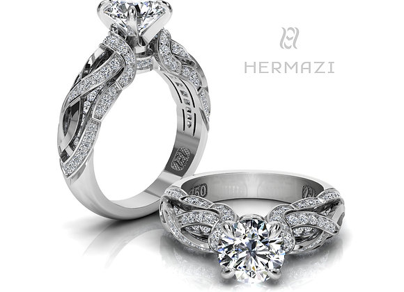 Hermazi® 'Sage Honey II.' Ring