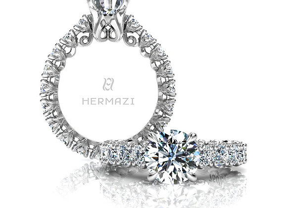 Hermazi® 'Loyalty' Eternity Ring