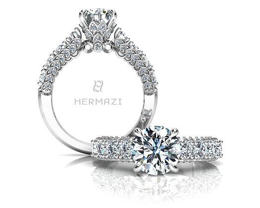 Hermazi® 'Everlasting' Halfway Ring
