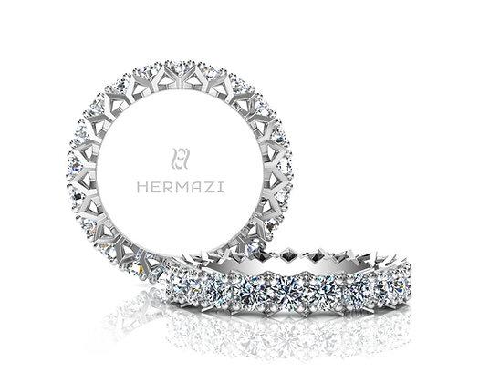 Hermazi® 'Divine' Eternity Diamond Band